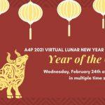 A4P Lunar New Year - Follow the New Moon (Virtual  Celebration)